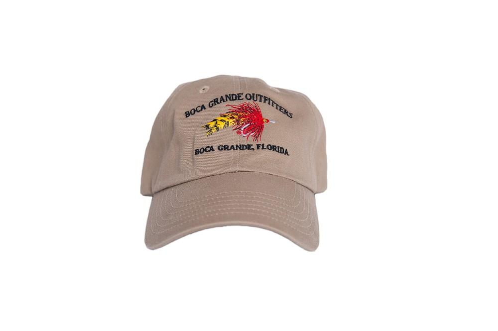 Fly Logo Hat - Khaki