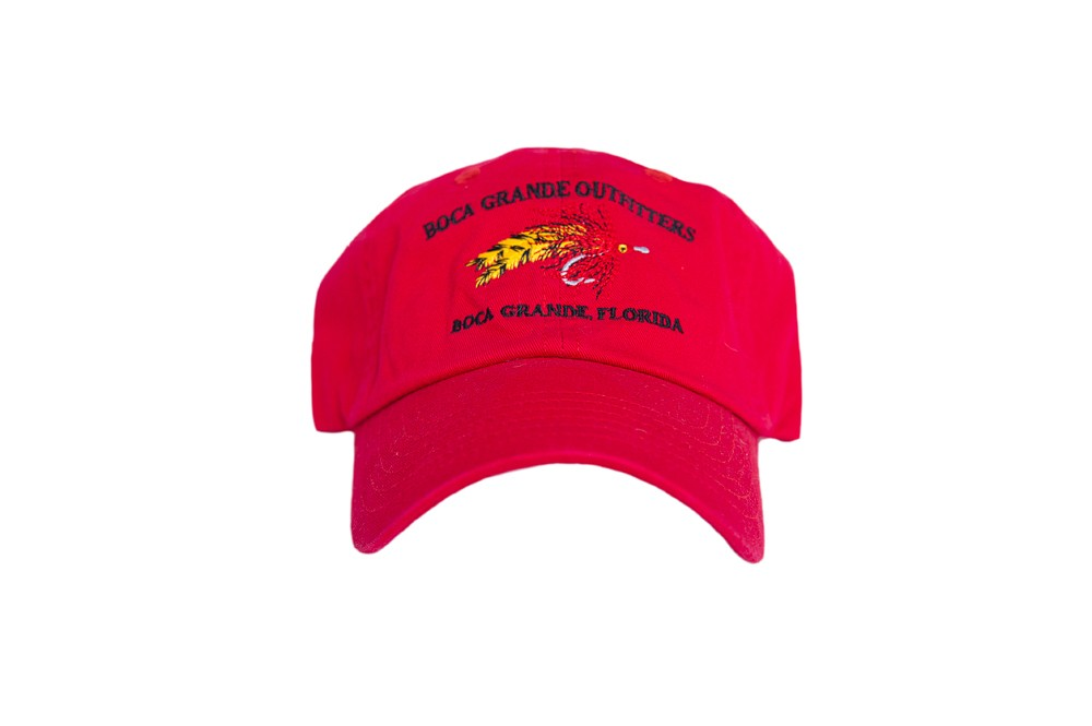 Fly Logo Hat - Red