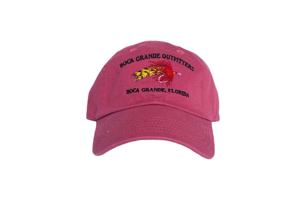 Fly Logo Hat - Nantucket Red