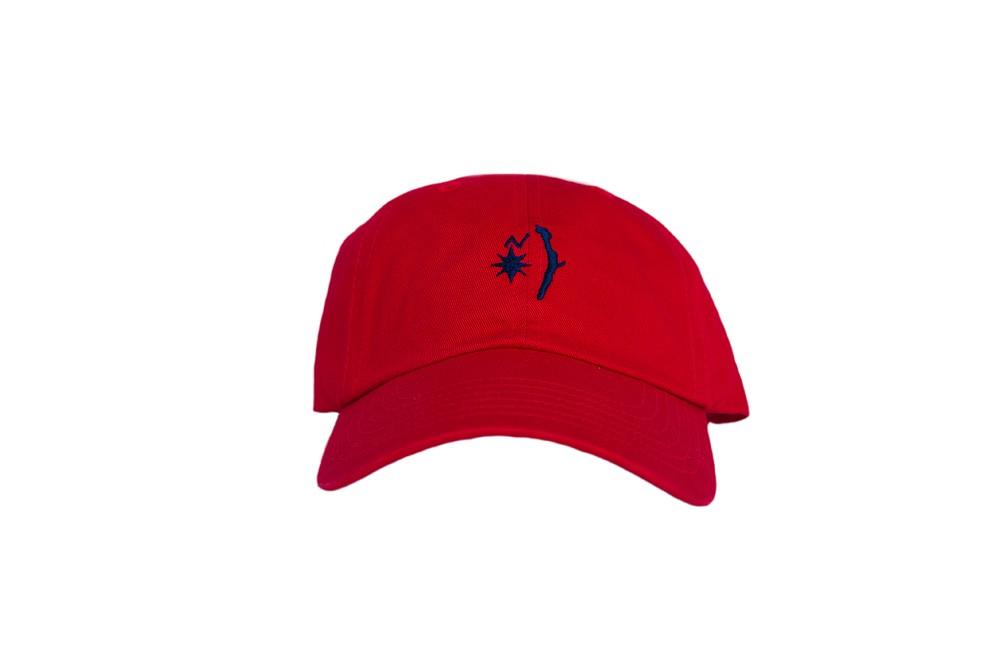 Island Logo Hat - Red