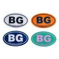 Small BG Euro Sticker
